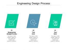Engineering Design Process Ppt Powerpoint Presentation Infographics Microsoft Cpb
