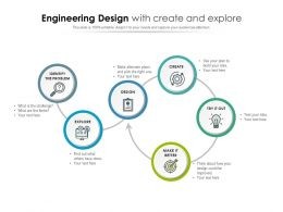 Engineering Design With Create And Explore