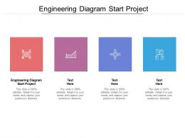 Engineering Diagram Start Project Ppt Powerpoint Presentation Pictures Clipart Images Cpb