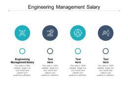 Engineering Management Salary Ppt Powerpoint Presentation Portfolio Graphics Cpb