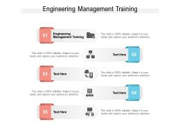 Engineering Management Training Ppt Powerpoint Presentation Inspiration Skills Cpb