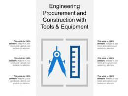 Engineering Procurement And Construction With Tools And Equipment