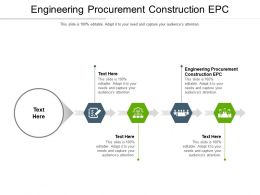 Engineering Procurement Construction Epc Ppt Powerpoint Presentation Layouts Vector Cpb