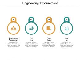 Engineering Procurement Ppt Powerpoint Presentation Professional Gallery Cpb