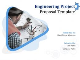 Engineering Project Proposal Template Powerpoint Presentation Slides