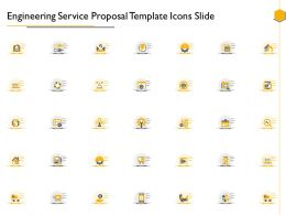 Engineering Service Proposal Template Icons Slide Ppt Powerpoint Presentation Design Ideas