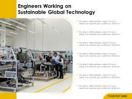 Engineers Working On Sustainable Global Technology