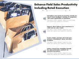 Enhance Field Sales Productivity Including Retail Execution
