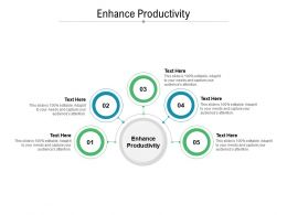 Enhance Productivity Ppt Powerpoint Presentation Layouts Slide Download Cpb