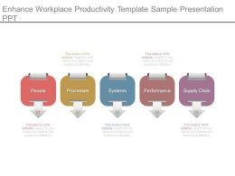Enhance Workplace Productivity Template Sample Presentation Ppt