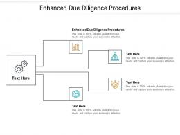 Enhanced Due Diligence Procedures Ppt Powerpoint Presentation Outline Example Cpb