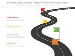 Enhanced Due Diligence Template Powerpoint Slides Show