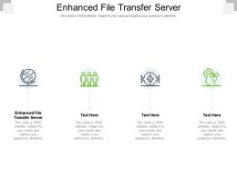 Enhanced File Transfer Server Ppt Powerpoint Presentation Ideas Shapes Cpb