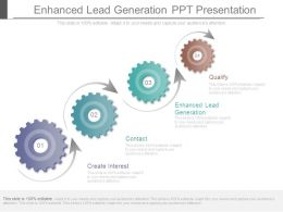 Enhanced Lead Generation Ppt Presentation