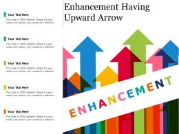 Enhancement Having Upward Arrow