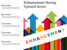 Enhancement Having Upward Arrow