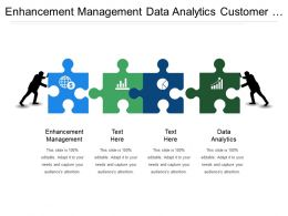 Enhancement Management Data Analytics Customer Acquisition Customer Retention