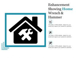 Enhancement Showing Home Wrench And Hammer