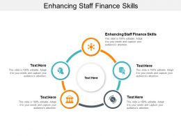 Enhancing Staff Finance Skills Ppt Powerpoint Presentation Infographic Template Files Cpb