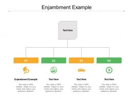 Enjambment Example Ppt Powerpoint Presentation Gallery Demonstration Cpb
