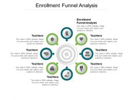 Enrollment Funnel Analysis Ppt Powerpoint Presentation Inspiration Cpb
