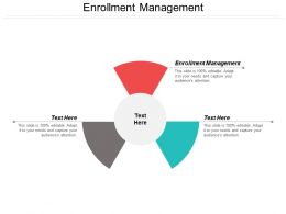 Enrollment Management Ppt Powerpoint Presentation Model Cpb