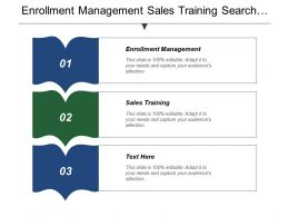 Enrollment Management Sales Training Search Engine Optimization Business Intelligence Cpb