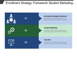 Enrollment Strategy Framework Student Marketing Student Recruitment Program Innovation