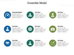 Ensemble Model Ppt Powerpoint Presentation Slides Show Cpb