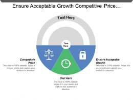 Ensure Acceptable Growth Competitive Price Objective Goals Analog Processors