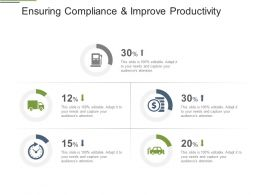 Ensuring Compliance And Improve Productivity Ppt Summary