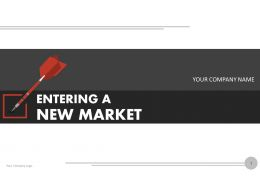 Entering A New Market PowerPoint Presentation With Slides Go To Market