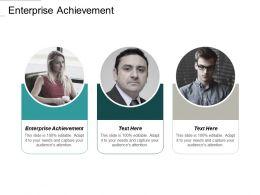 Enterprise Achievement Ppt Powerpoint Presentation Portfolio Topics Cpb