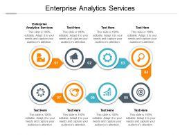 Enterprise Analytics Services Ppt Powerpoint Presentation Slide Download Cpb