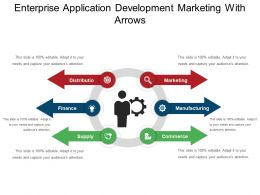 Enterprise Application Development Marketing With Arrows