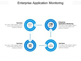 Enterprise Application Monitoring Ppt Powerpoint Presentation Professional Example Cpb