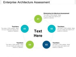 Enterprise Architecture Assessment Ppt Powerpoint Presentation Styles Gridlines Cpb