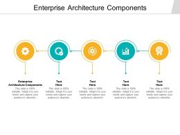 Enterprise Architecture Components Ppt Powerpoint Presentation Example Cpb