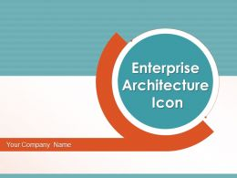 Enterprise Architecture Icon Business Proactive Governance Technology Information