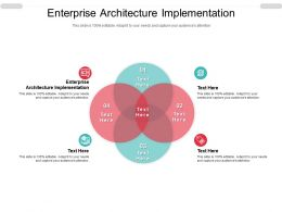 Enterprise Architecture Implementation Ppt Powerpoint Presentation Gallery Good Cpb