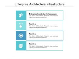 Enterprise Architecture Infrastructure Ppt Powerpoint Presentation Gallery Elements Cpb