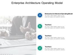 Enterprise Architecture Operating Model Ppt Powerpoint Presentation Layouts Shapes Cpb