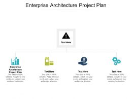 Enterprise Architecture Project Plan Ppt Powerpoint Presentation Show Design Inspiration Cpb