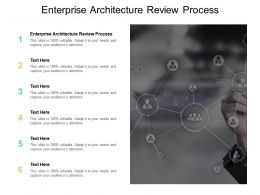Enterprise Architecture Review Process Ppt Powerpoint Presentation File Information Cpb