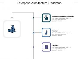 Enterprise Architecture Roadmap Ppt Powerpoint Presentation Summary Designs Cpb