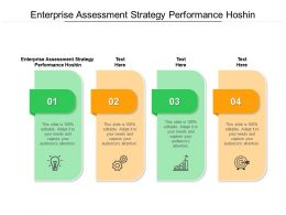 Enterprise Assessment Strategy Performance Hoshin Ppt Powerpoint File Cpb