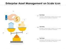 Enterprise Asset Management On Scale Icon