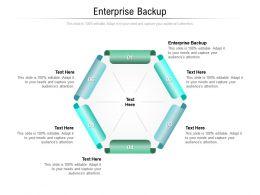 Enterprise Backup Ppt Powerpoint Presentation Model Visuals Cpb