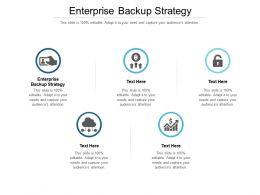Enterprise Backup Strategy Ppt Powerpoint Presentation Layouts Ideas Cpb
