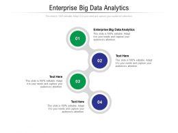 Enterprise Big Data Analytics Ppt Powerpoint Presentation Outline Show Cpb